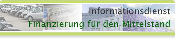 Informationsdienst Finanzierung für den Mittelstand